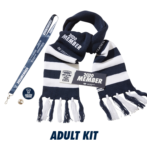 Promotional picture of membership package Geelong Strong Champion